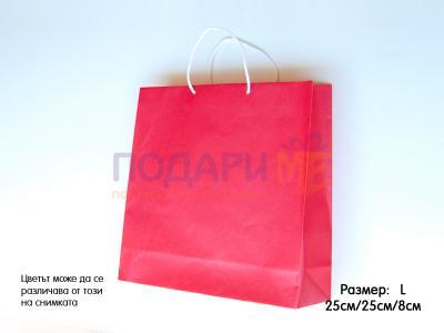 Хартиена опаковка размер L