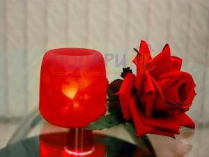 Романтична LED свещ