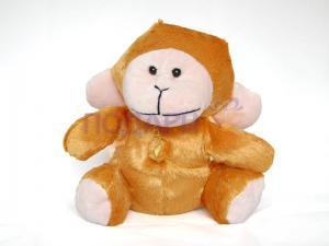 Плюшена играчка - маймунка или зайче