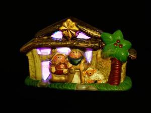 Коледен сувенир - библейска сцена