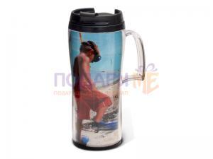 Термо чаша с Ваша снимка