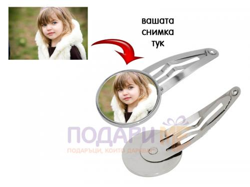 Фиба за коса със снимка