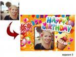 Картичка за рожден ден вариант 2