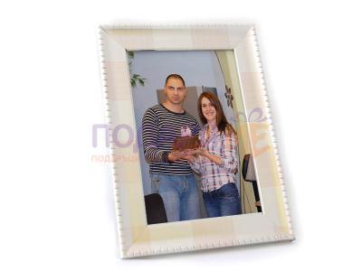Рамка за снимки сребро