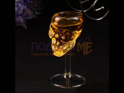 Чаша за ракия череп