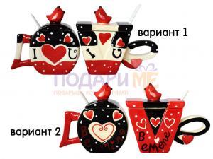 Комплект керамични чаши модел 2