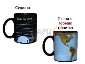 Магическа чаша - планети и континенти