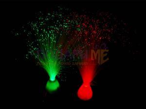 Декоративна LED лампа с оптични влакна