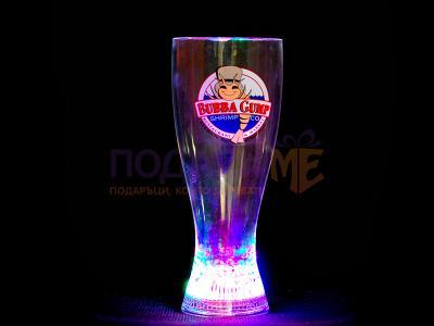 Светеща чаша за бира