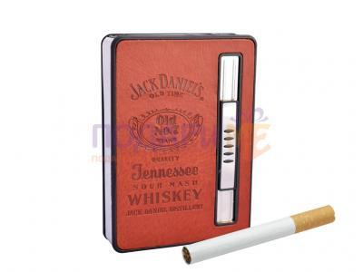 Луксозна кутия за цигари в стил Jack Daniel…