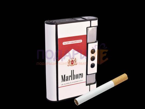 Луксозна кутия за цигари в стил Marlboro