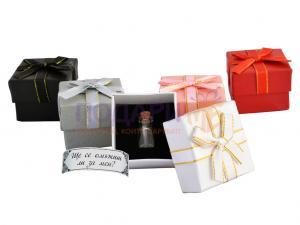 Послание в бутилка с подаръчна кутийка