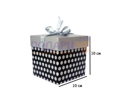 Кутия за чаша или преспапие на точки
