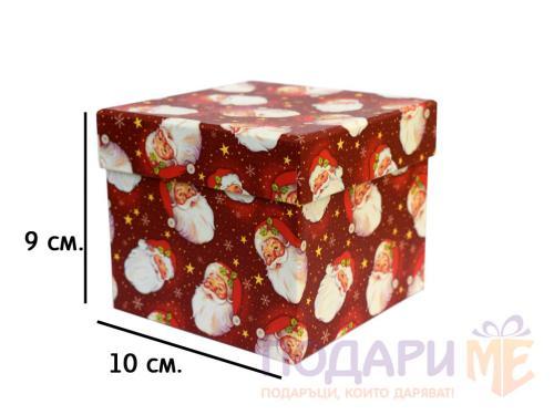 Подаръчна кутия за преспапие/чаша за Коледа