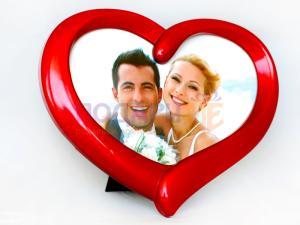 Рамка за снимка сърце