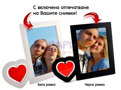 Рамка със снимка за влюбени
